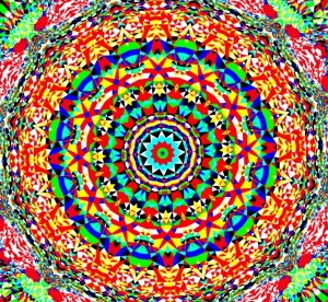 Kaleidoscopic effect