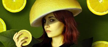 mushroom trip intensifyied with lemon
