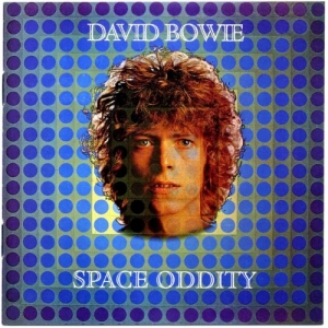Looking at the cover of Space Oddity is almost a psychedelic trip by itself.