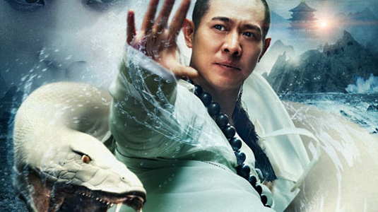 Jet Li, from The Sorcerer and the White Snake